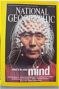 National Geographic, Vol. 207, No. 3, March 2005 (Image1)