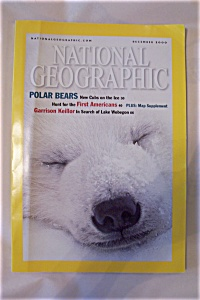 National Geographic, Vol 198, No. 6, December 2000 (Image1)