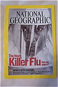 National Geographic, Vol. 208, No. 4, October 2005 (Image1)