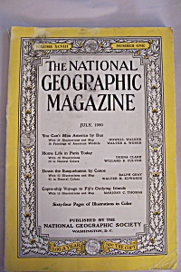National Geographic, Vol. 98, No. 1, July 1950 (Image1)