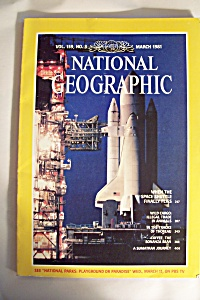 National Geographic, Vol. 159,  No. 3, March 1981 (Image1)