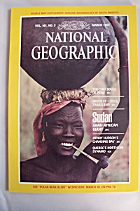 National Geographic, Vol. 161, No. 3, March 1982 (Image1)