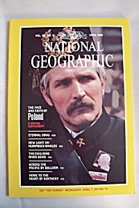 National Geographic, Vol. 161, No. 4, April 1982 (Image1)