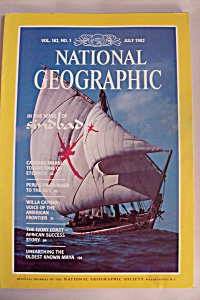 National Geographic, Vol. 162, No. 1, July 1982 (Image1)