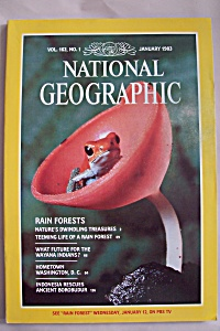 National Geographic, Vol. 163, No. 1, January 1983 (Image1)