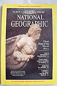 National Geographic, Vol. 163, No. 3, March 1983 (Image1)