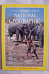 National Geographic, Vol. 165, No. 2, February 1984 (Image1)