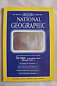 National Geographic, Vol. 165, No. 3, March 1984 (Image1)
