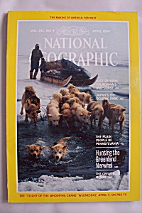 National Geographic, Vol. 165, No. 4, April 1984 (Image1)