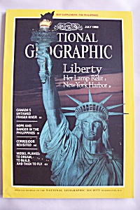 National Geographic, Vol. 170, No. 1, July 1986 (Image1)