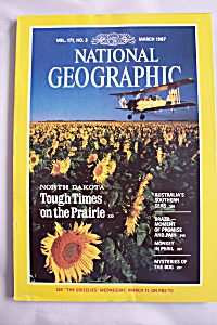 National Geographic, Vol. 171, No. 3, March 1987 (Image1)
