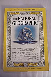 National Geographic, Vol. CXVI, No. 6, December 1959 (Image1)