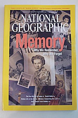 National Geographic, Vol. 212, No. 5, November 2007 (Image1)