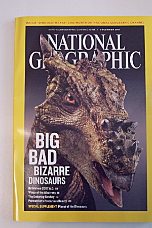 National Geographic, Vol. 212, No. 6, December 2007 (Image1)