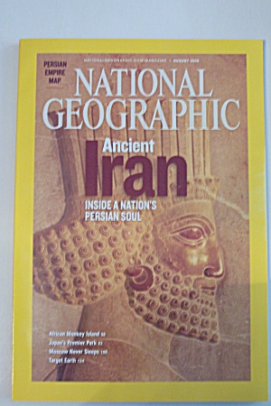 National Geographic, Vol. 214, No. 2, August 2008 (Image1)