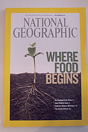 National Geographic, Vol. 214, No. 3, September 2008 (Image1)