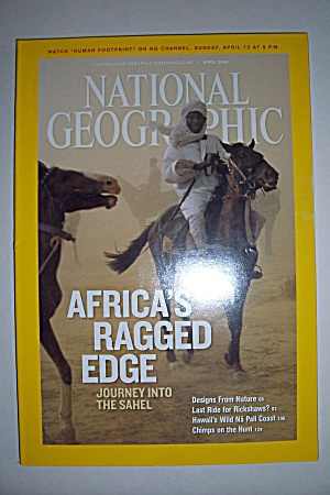 National Geographic, Vol. 213, No. 4, April 2008 (Image1)