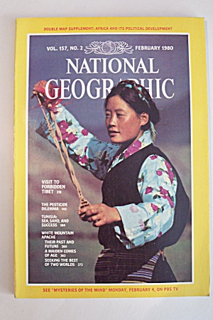 National Geographic, Vol. 157, No. 2, February 1980 (Image1)