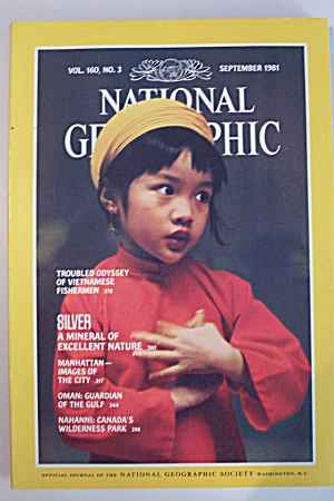 National Geographic, Vol. 160, No. 3, September 1981 (Image1)