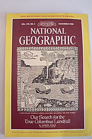 National Geographic, Vol. 170, No. 5, November 1986