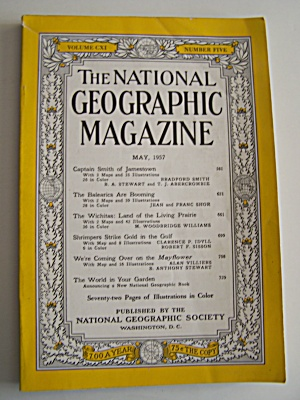 National Geographic, Vol. CXI, No. 5, May 1957 (Image1)