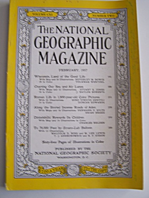 National Geographic, Vol. CXI, No. 2, February 1957 (Image1)