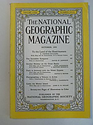 National Geographic, Vol. CVIII, No. 4, October 1955 (Image1)