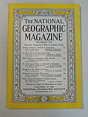National Geographic, Vol. CVIII, No. 6, December 1955 (Image1)