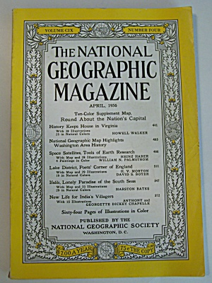 National Geographic, Vol. CIX, No. 4, April 1956 (Image1)