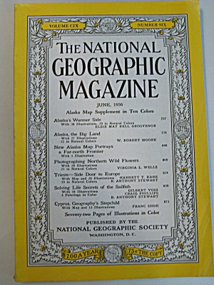 National Geographic, Vol. CIX, No. 6, June 1956 (Image1)