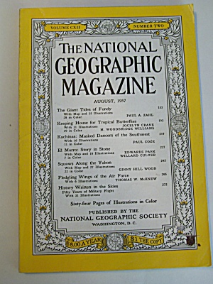 National Geographic, Vol. CXII,  No. 2, August 1957 (Image1)