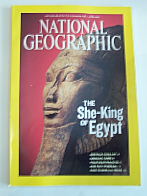 National Geographic, Vol. 215, No. 4, April 2009 (Image1)