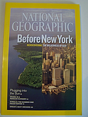 National Geographic, Vol. 216, No. 3, September 2009 (Image1)