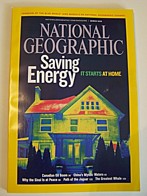 National Geographic, Vol. 215, No. 3, March 2009 (Image1)