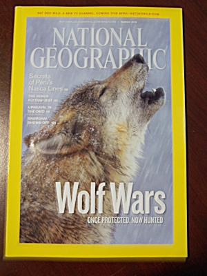 National Geographic, Vol. 217, No. 3, March 2010 (Image1)