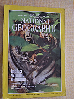 National Geographic, Volume 191, No. 5, May 1992 (Image1)