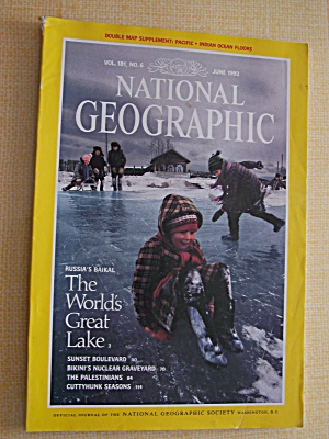 National Geographic, Volume 181, No. 6, June 1992 (Image1)