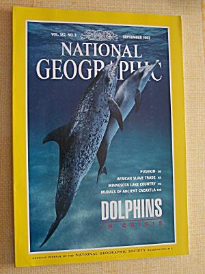 National Geographic, Volume 182, No. 3, September 1992 (Image1)