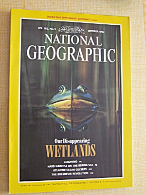 National Geographic, Volume 182, No. 4, October 1992 (Image1)