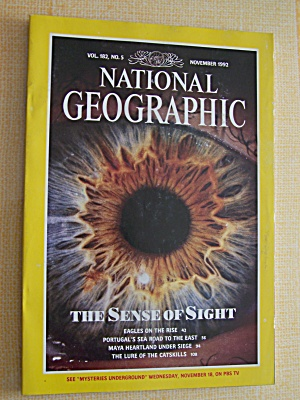 National Geographic, Volume 182, No. 5, November 1992 (Image1)