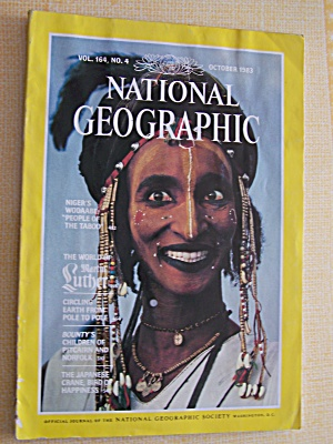 National Geographic, Volume 164, No. 4, October 1983 (Image1)