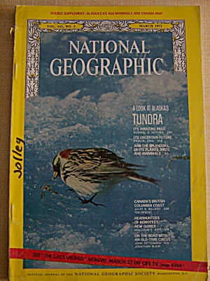 National Geographic, Volume 141, No. 3, March 1972 (Image1)