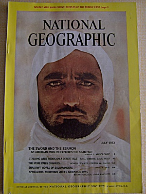 National Geographic, July 1972 (Image1)