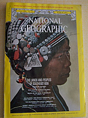 National Geographic, Volume 139, No. 3, March 1971 (Image1)