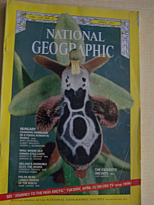National Geographic, Volume 139, No. 4, April 1971 (Image1)
