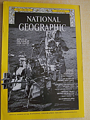 National Geographic, Volume 140, No. 1, July 1971 (Image1)