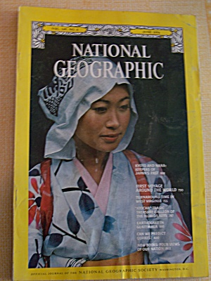 National Geographic, Vol. 149, No.6, June 1976 (Image1)