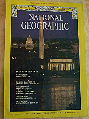 National Geographic, Vol.  150, No. 4, October 1976 (Image1)