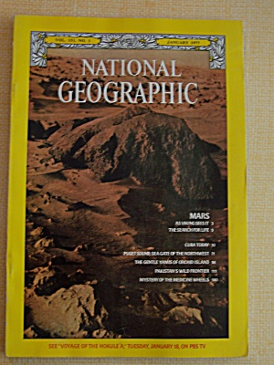 National Geographic, Vol. 151, No. 1, January 1977 (Image1)