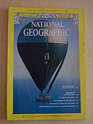 National Geographic, Vol. 151, No. 2, February 1977 (Image1)